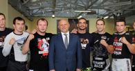 Губернатор Омской области поддержал Шлеменко перед его первым боем в М-1
