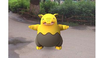 Pokemon Go: омичи бегают по городу, чтобы поймать покемона