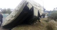 В Омске произошло ДТП с участием танка