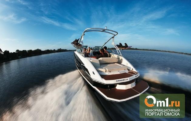 В Омске сезон навигации для катеров откроют 26 мая