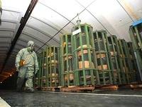 Россия уничтожила 77% запасов химического оружия