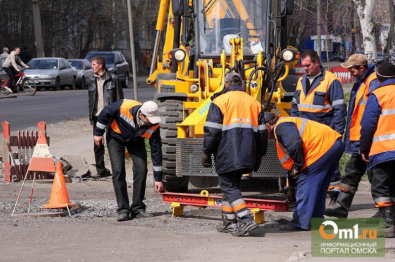 Двораковский: Омск пока не может отказаться от ямочного ремонта
