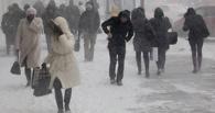 После теплых и снежных выходных в Омск вернутся морозы