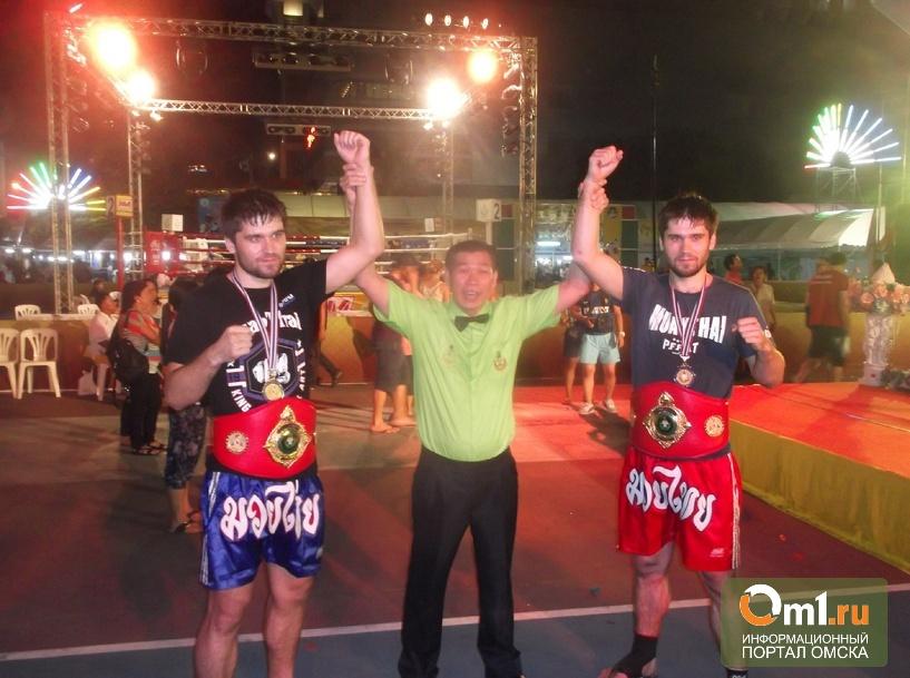 Омичи взяли золотые медали на чемпионате мира по тайскому боксу