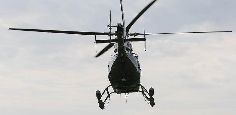 В Омск доставили первый собранный в России американский вертолет Bell