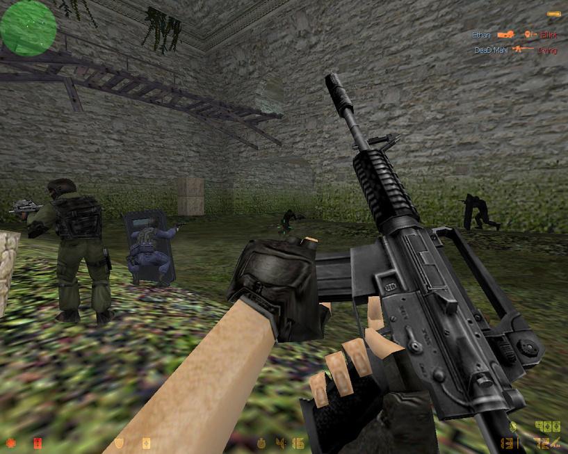 В омском «Арлекине» сыграли в террористов