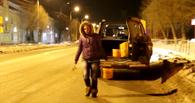«Дорожная фея» вернулась на городские улицы помогать омичам (видео)