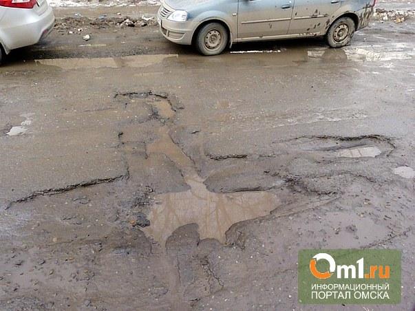 В Омской области отремонтируют 20 км «трассы смерти»