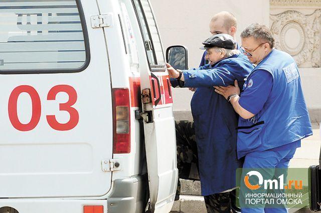 В Омске в ДТП пострадали 3 пассажира маршрутки