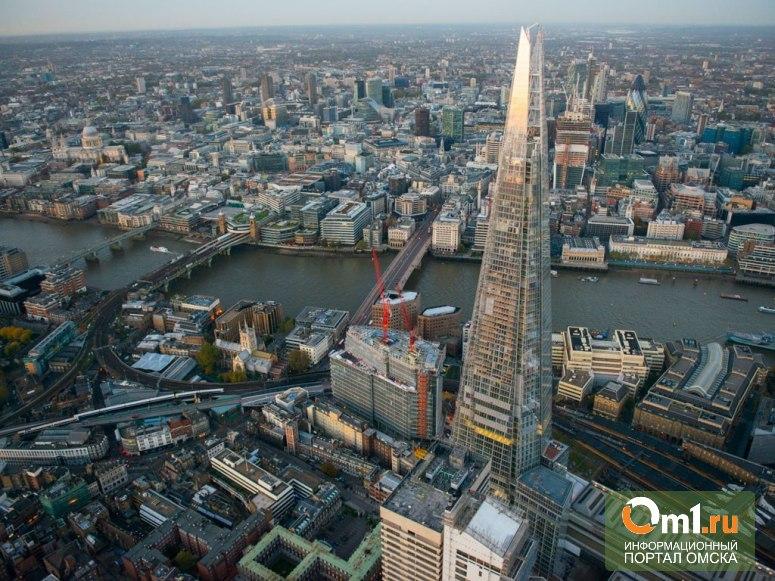 В Лондоне горит самый высокий небоскреб Европы