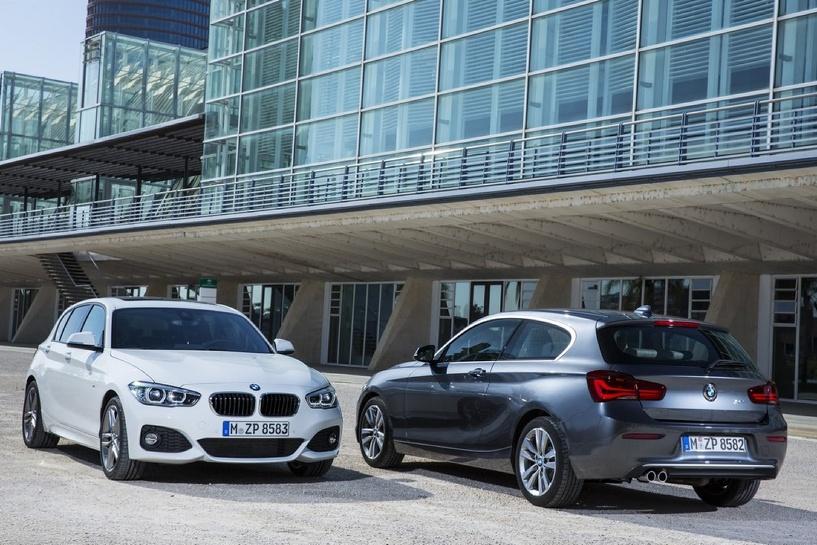 «Копейка» обновилась: BMW показала рестайлинг 1-Series