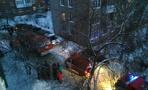 В Омске в жилом доме взорвался газ. Фото