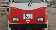 Из-за ДТП с трамваем в Омске образовалась серьезная пробка на Маркса
