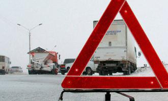 В Омской области «Хонда» въехала в большегруз