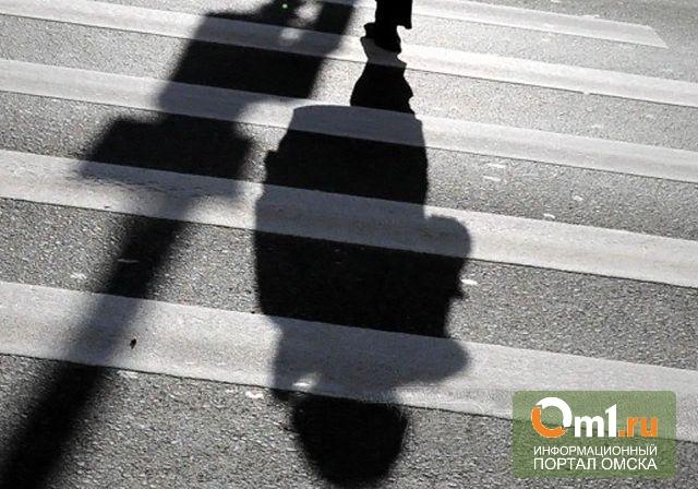 В Омске на переходе сбили женщину с годовалым ребенком на руках