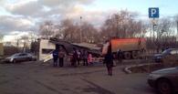 В ДТП с КамАЗом, который снес в Омске киоск и придавил пешехода, обвинили водителя
