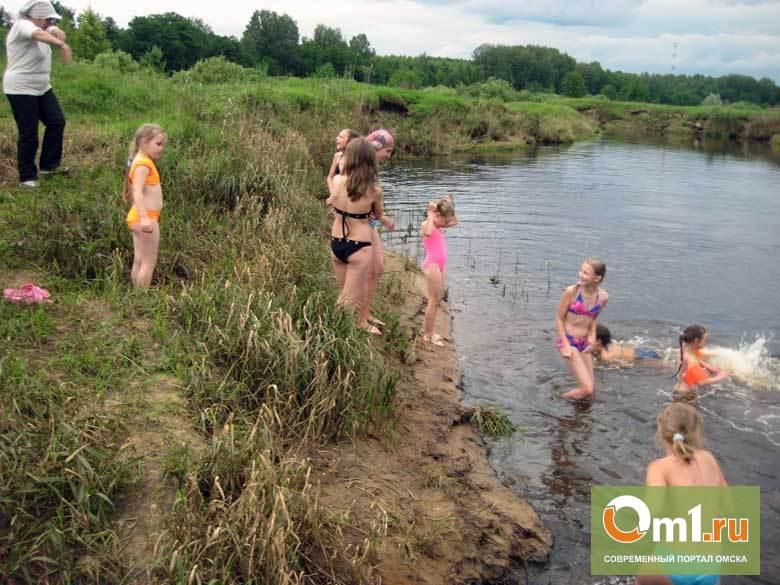 Под Омском в пруду утонул ребенок