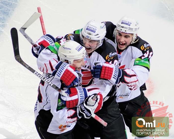 Омский «Авангард» выиграл матч у аутсайдера лиги