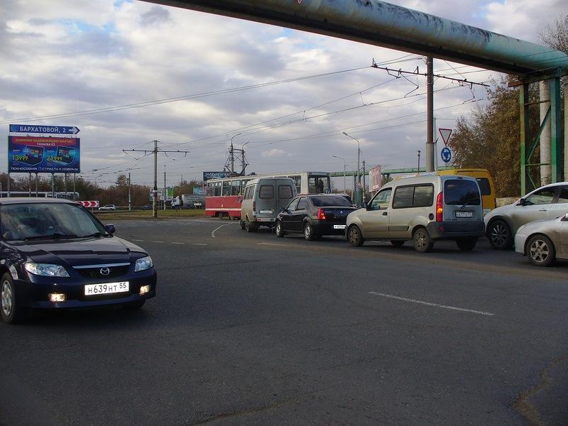 В Омске начинается реконструкция трамвайного кольца на Заозерной