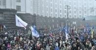 В Киеве манифестанты не пустили на работу сотрудников кабмина