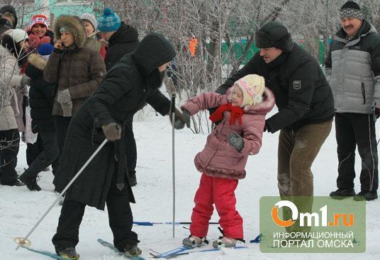 В Советском округе Омска дальше всех кидают валенок