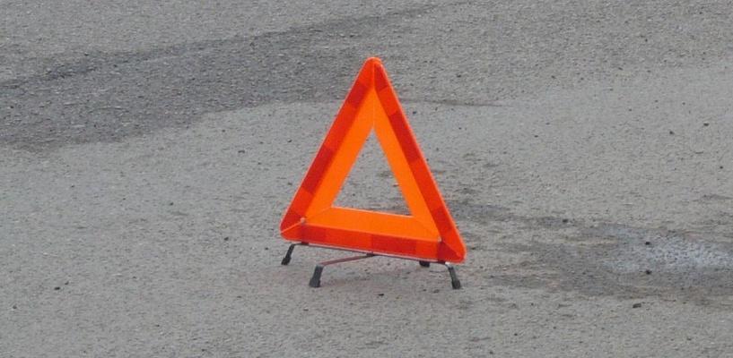 В Омске на Красноярском тракте произошло лобовое ДТП