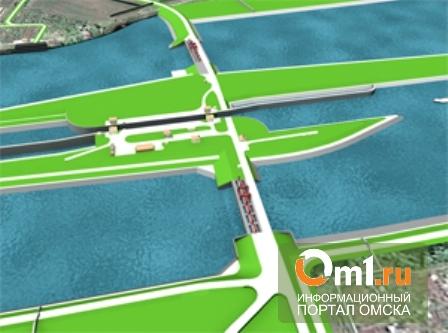 В Омске завершается строительство левобережной части Красногорского гидроузла