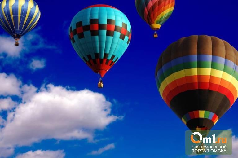 Гонки на воздушных шарах омичи увидят только осенью