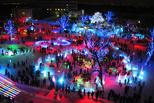 Ледовый городок «Беловодье» открыл свои двери для омичей