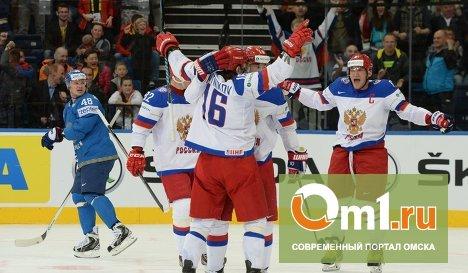 Россия одержала четвертую победу подряд на чемпионате мира по хоккею