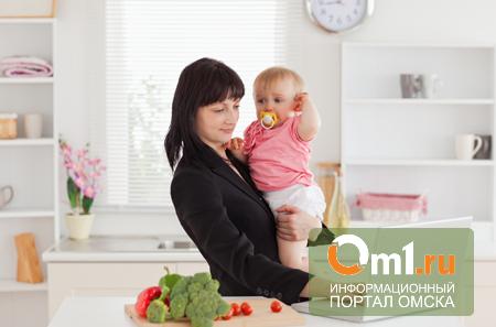 Ребенок vs. работа: что предпочитают современные омички