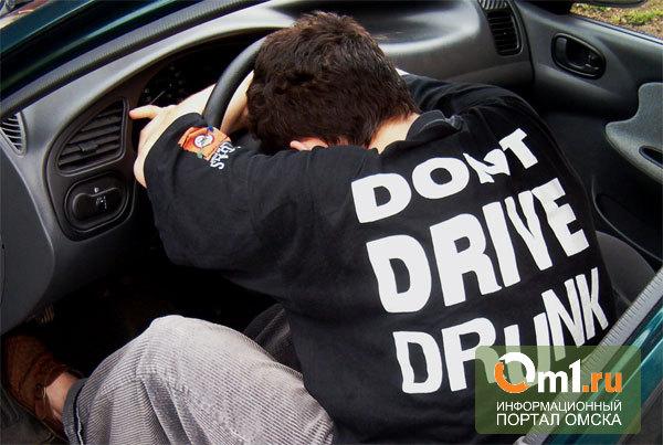 В Омской области пьяный в стельку водитель «семерки» столкнулся ВАЗом