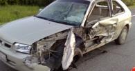 Пьяный водитель сбил мотоциклиста с пассажиром под Омском