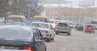 Первый день весны в Омске ознаменовался пробками и многочисленными ДТП