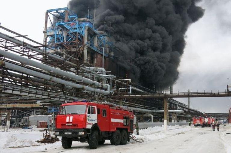 Уголовное дело по факту взрыва на заводе «Омский каучук» закрыто