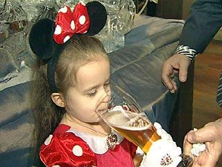 В Омской области продавали пиво и коктейли в здании детского сада