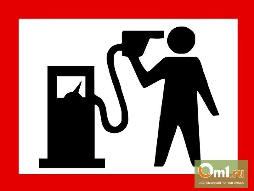 Омские автомобилисты протестуют против повышения цен на топливо