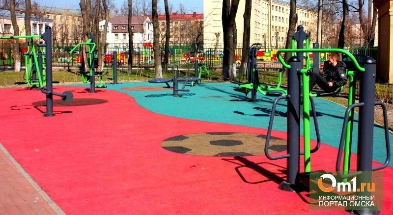 В Омске в спортивный мини-парк вложили 10 млн рублей