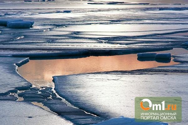 Омских рыбаков предупреждают о тонком льде