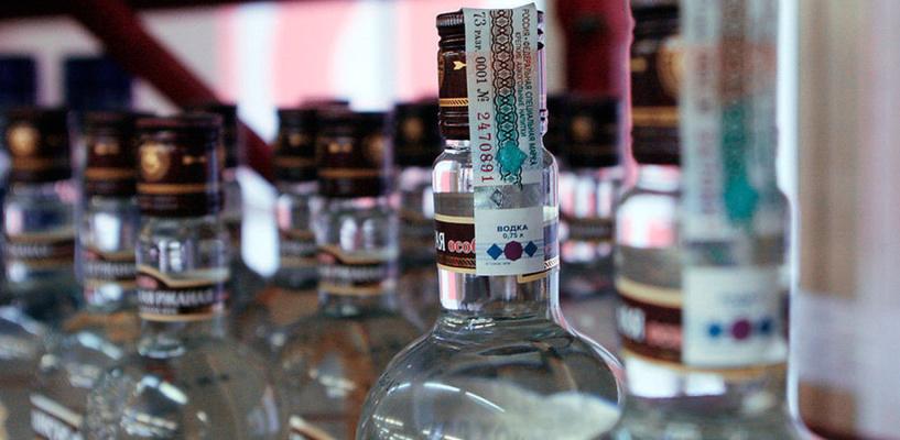 В Омске закрыли «магазин на дому» с контрафактным алкоголем
