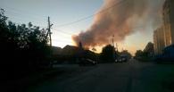 Появились подробности о пожаре в частном секторе Омска