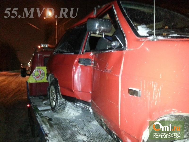 Полицейские в центре Омска гонялись за пьяным водителем