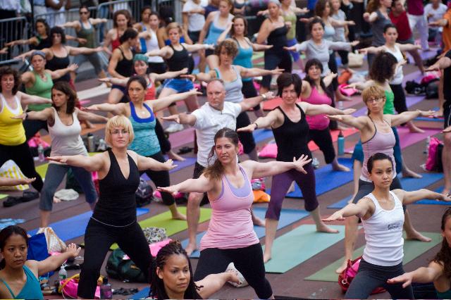 В Омске пройдет благотворительный йога-марафон