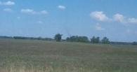 Омичи заметили смерч неподалеку от деревни Алексеевка