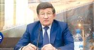 Двораковский сфотографировался с конструкцией «Я люблю Омск»