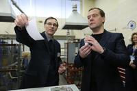 Московские ученые рассказали Медведеву о шапке-невидимке