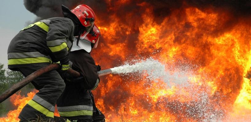 В Омске загорелось «Бюро экспертной оценки»