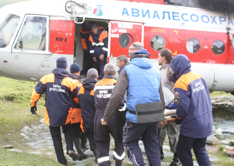 Турист из Омска повредил позвоночник в Горном Алтае