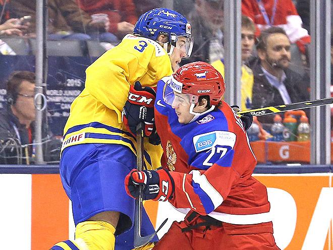 Россияне вышли в финал молодежного чемпионата мира по хоккею