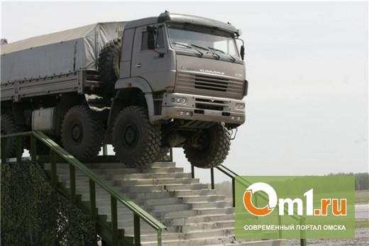 В Омской области у сельчанина незаметно угнали «КамАЗ»